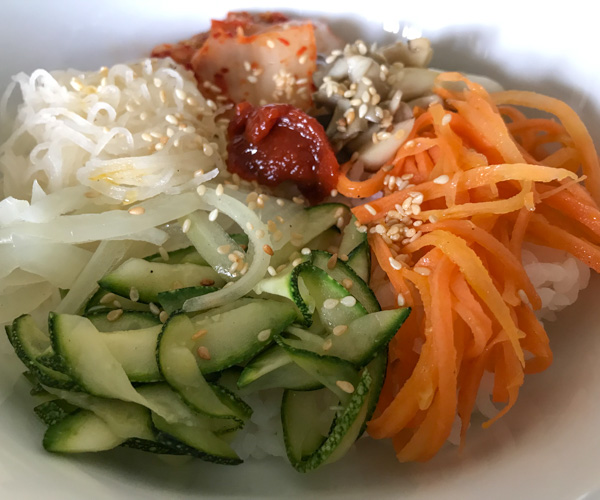JW Marriott Phu Quoc vegan bibimbap
