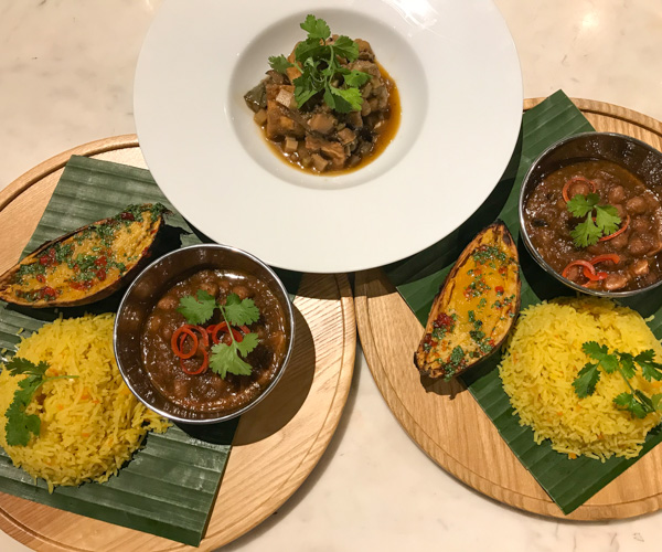 JW Marriott Phu Quoc vegan dinner