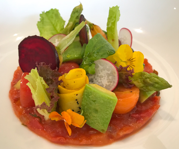 JW Marriott Phu Quoc vegan salad
