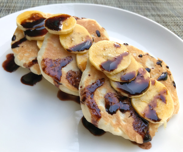 Salinda Resort vegan pancakes