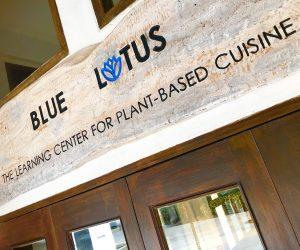 Blue Lotus sign
