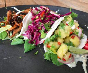 Blue Lotus vegan tacos 2