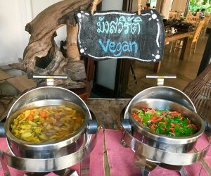 Evason Hua Hin vegan breakfast 1