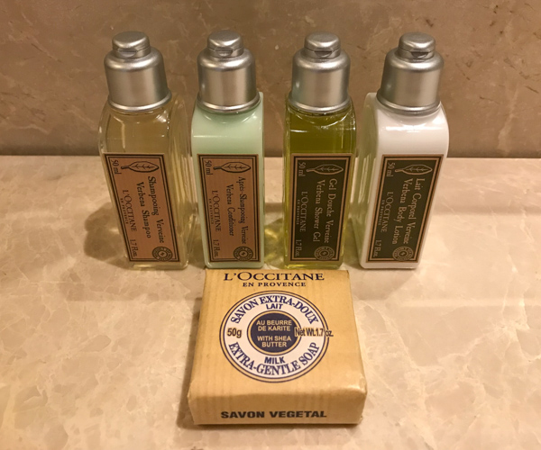 InterContinental Hua Hin vegan bathroom amenities