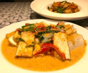 InterContinental Hua Hin vegan food Penang curry