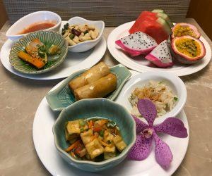 InterContinental Hua Hin vegan food canapes