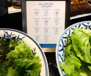 InterContinental Hua Hin vegan food labels