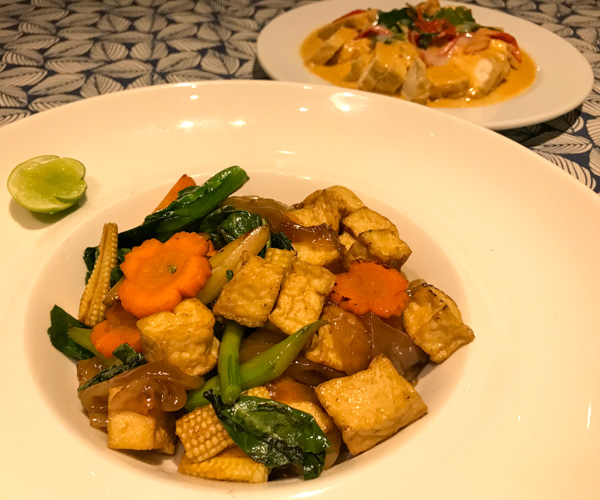 InterContinental Hua Hin vegan pad se ew
