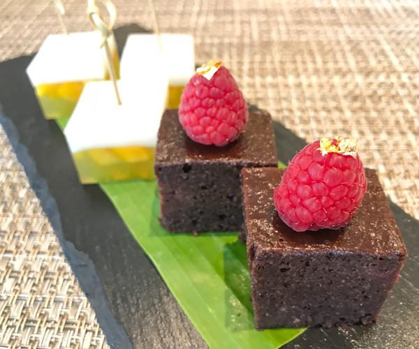 Marriott Hua Hin vegan cakes