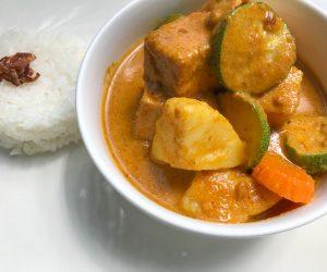 Pavilion Phnom Penh vegan curry