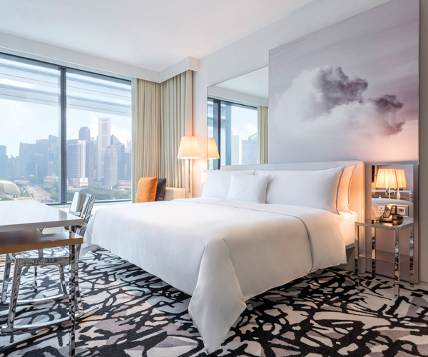 JW Marriott Singapore South Beach - Premier Marina View King