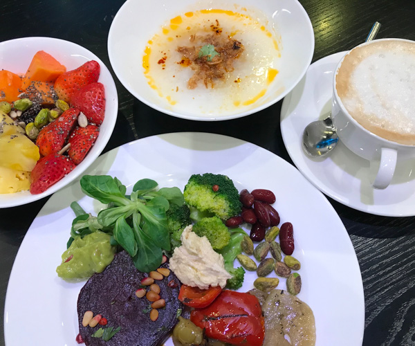JW Marriott Singapore South Beach - Vegan Breakfast 1