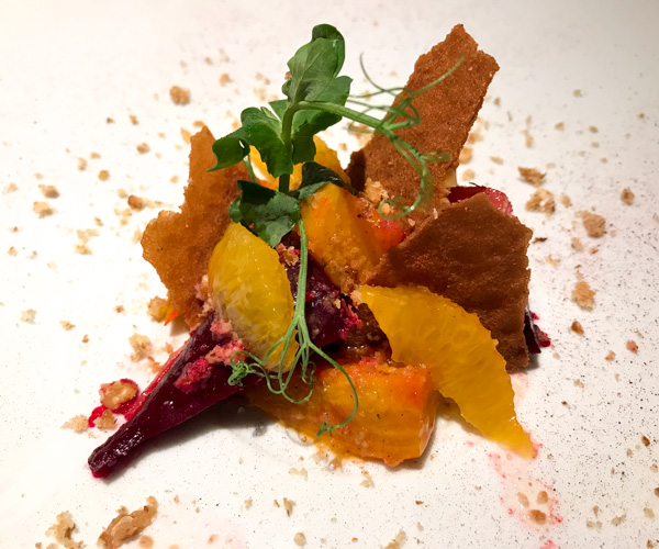 Six Senses Maxwell - Heirloom Beetroot Salad