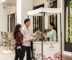 Six Senses Maxwell - Ice Cream Tricycle