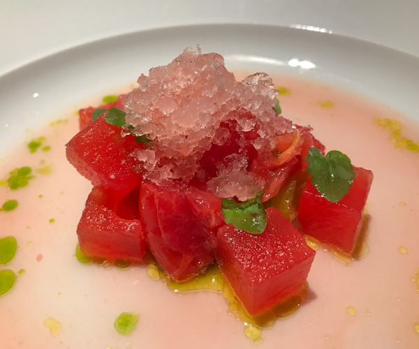 Six Senses Maxwell - Vine Tomato and Watermelon Salad_