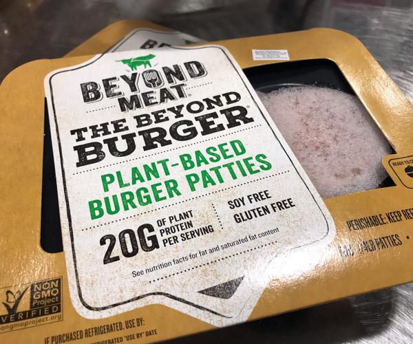 frozen Beyond Burger