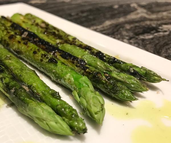 Akira Back Bangkok - Vegan Asparagus