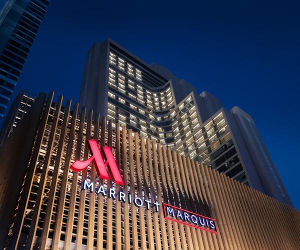 Bangkok Marriott Marquis - Facade