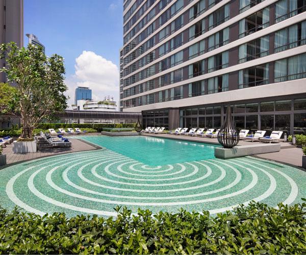 Bangkok Marriott Marquis - Swimming Pool 1