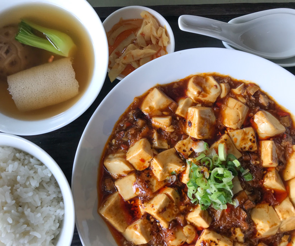 Grand Hyatt Hong Kong mapo tofu