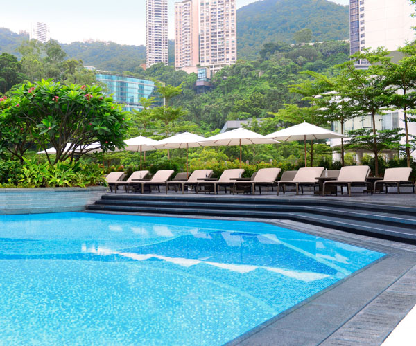 JW Marriott Hotel Hong Kong - Swimming Pool