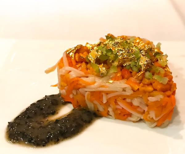 Ming Court - mushroom salad