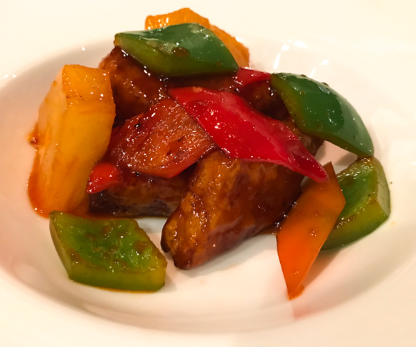 Ming Court - sweet and sour omnipork