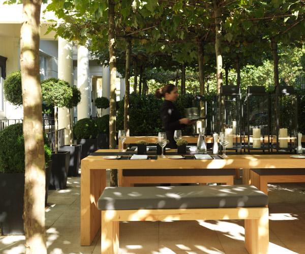 Private Terrace at La Suite West