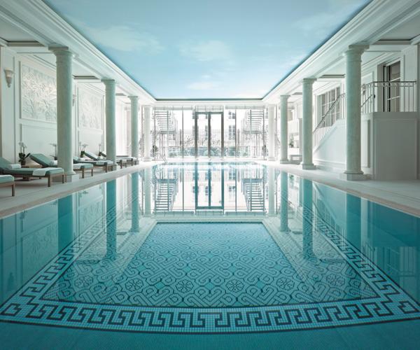 Shangri-La Paris Swimming Pool 1