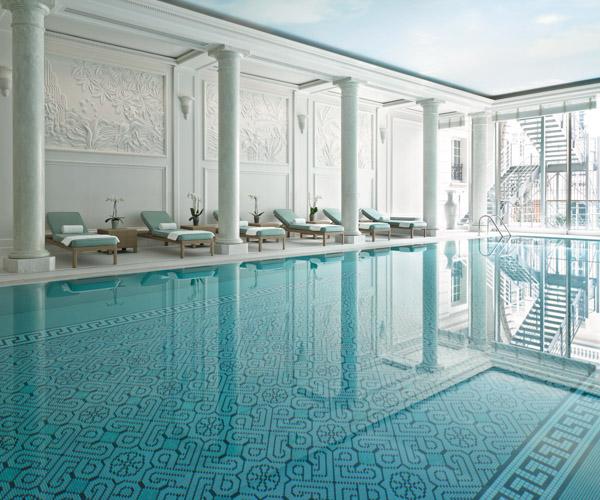 Shangri-La Paris Swimming Pool 2