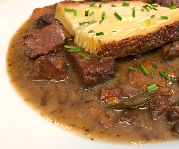 Le Potager Paris vegan bourguinon