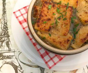 Le Potager Paris vegan soup