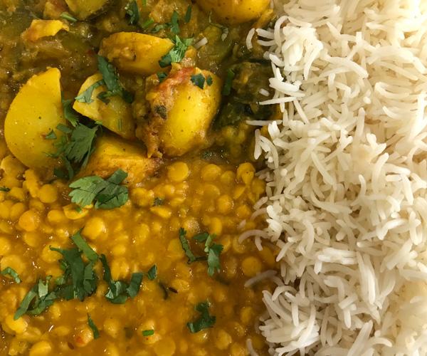 Singh paris vegan thali