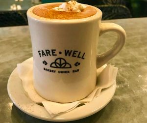 Farewell vegan coffee