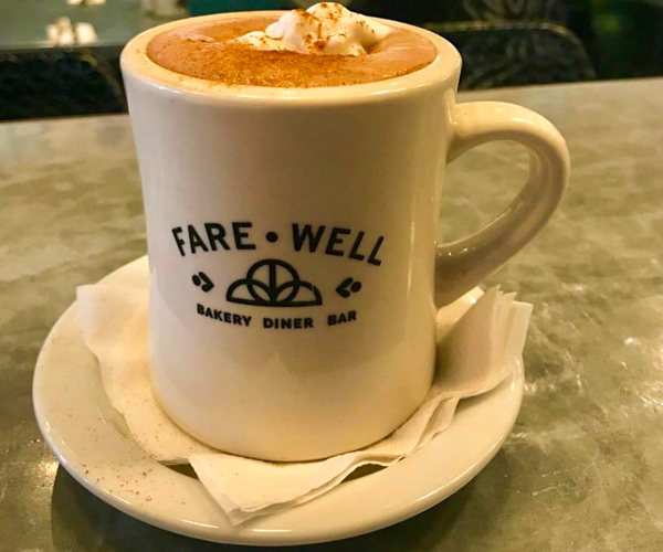 Farewell vegan coffee