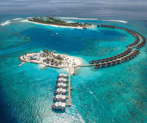 OBLU SELECT at Sangeli - Full Island - Aerial - 02