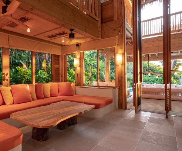 Soneva Fushi - 2 Bed Villa Lounge