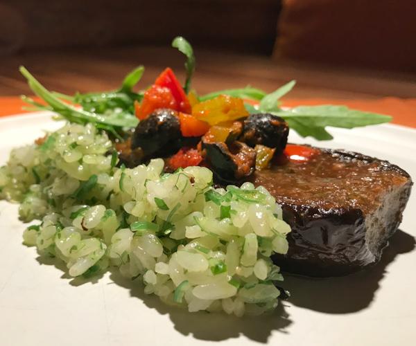 Soneva Fushi - Fresh in the Garden Vegan Aubergine