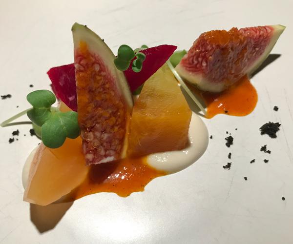 Soneva Fushi - Fresh in the Garden Vegan Beetroot Salad