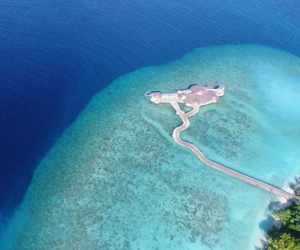 Soneva Fushi - Out of the Blue Aerial