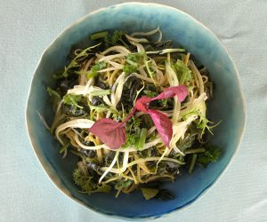 Soneva Fushi - Out of the Blue Raw Salad