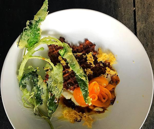 Soneva Fushi - Shades of Green Vegan Food 2