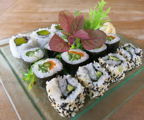 Soneva Fushi - Vegan Sushi
