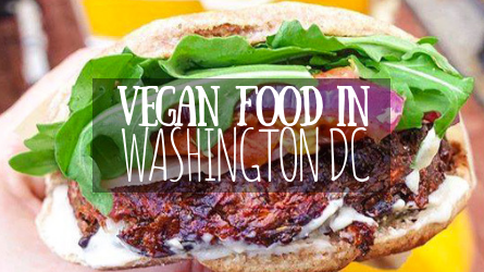 Vegan Food in Washington DC featured image