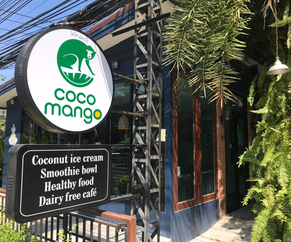 Coco Mango Koh Chang dairy free cafe