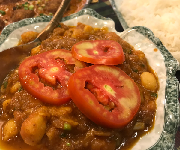 Emperor of India Koh Chang channa masala