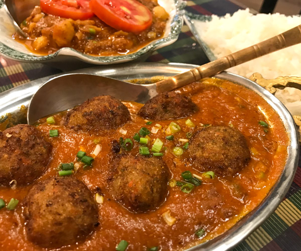 Emperor of India Koh Chang vegan kofta