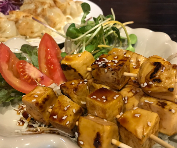 Tofu Kitchen Koh Chang tofu skewers