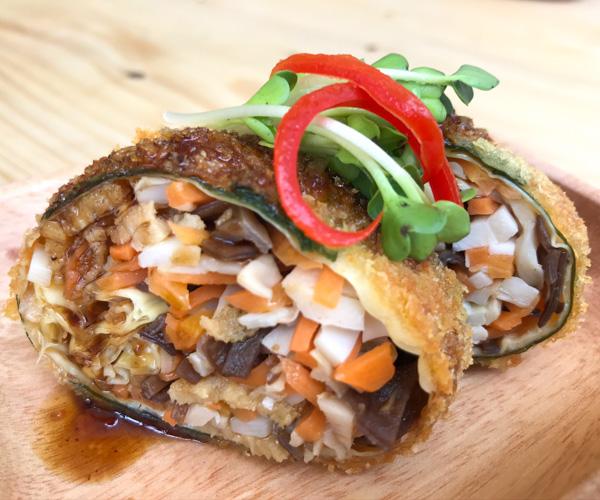 4an Vegetarian Vegan Tofu Rolls
