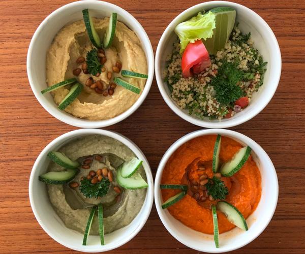 Melia Ho Tram Vegan Arabic Mezze
